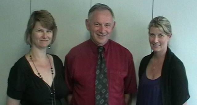 The Narrative Assessment Leadership team: Tracey Elder, Philip Cortesi, Kathryn Blakie